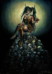 Queen of Spades by D-C-P-Niszczyciel