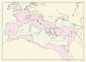 Roman Empire 400CE (ARALDYANA) by Pischinovski