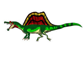 Spinosaurus aegypticus by TrefRex