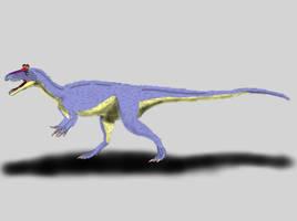 Cryolophosaurus ellioti by TrefRex