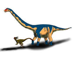 Dreadnoughtus schrani by TrefRex