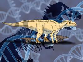 Jurassic Park Novel Maiasaura by TrefRex