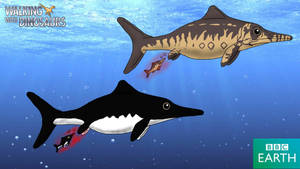 Walking with Dinosaurs: Ophthalmosaurus by TrefRex