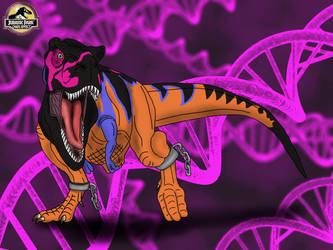 Omega T. rex (Jurassic Park: Chaos Effect) by TrefRex