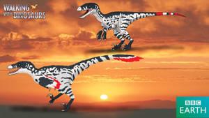 Walking with Dinosaurs: Dakotaraptor by TrefRex