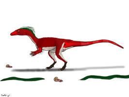Dracoraptor hanigani by TrefRex