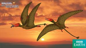 Walking with Dinosaurs: Rhamphorhynchus by TrefRex