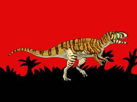 Jurassic Park Metriacanthosaurus by TrefRex