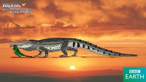 Walking with Dinosaurs: Deinosuchus by TrefRex