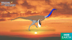 Walking with Dinosaurs: Gallimimus by TrefRex