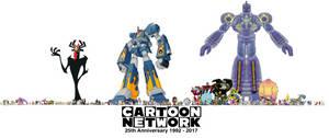 Cartoon Network 25th Anniversary II by TrefRex