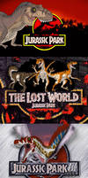 Jurassic Park series Titles by TrefRex