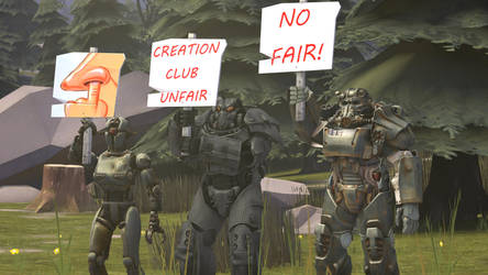 Fallout 4: Strike by CrusaderTheFirst