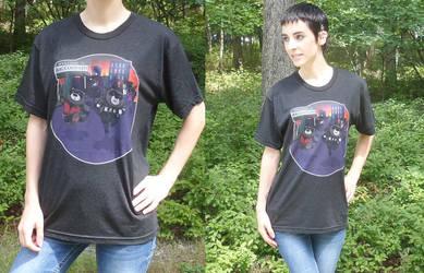 Escape Raccoon City Shirt by UmbrellaSpecter