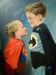 Superheros by touchoflight