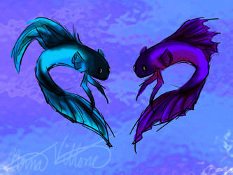 Two Fish by StarFeuri