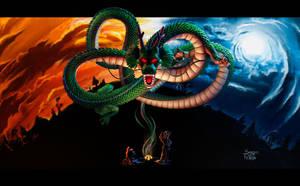 Shenlong  Dragon Ball by seijiwolf