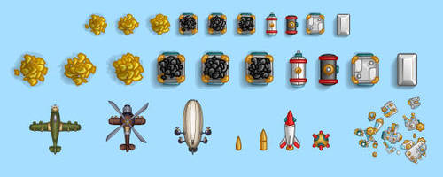 game objects by monterxz