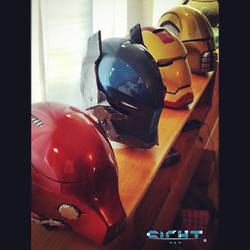 my collection of helmets! by yuga
