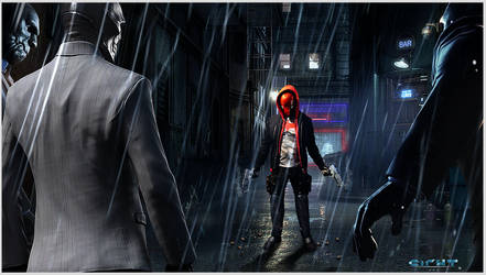 Red Hood. The end of the line! by yuga
