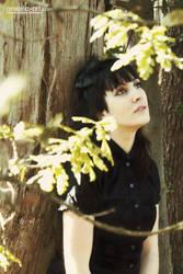 Maty among the trees by anxela-art
