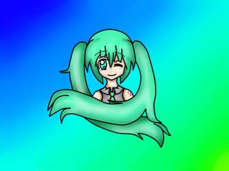 Hatsune Miku by CV01HatsuneMikuCV01