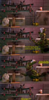 [FnaF Comic] Cooking with Springtrap|ep2|Holidays by Teetheyhatty