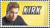 Stamp: Cap'n Kirk by black-lupin