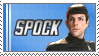 Stamp: My favourite Vulcan by black-lupin