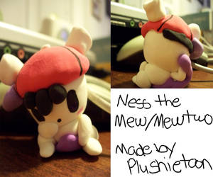 Another Ness Figure by plushietoon