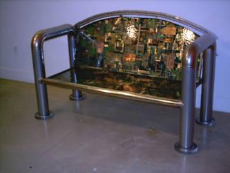 Circuit Board Bench II by DougChase
