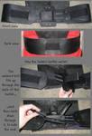 Mass Effect - Joker Moreau's belt (WIP) by Emmalyn