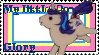 G1 MLP Glory stamp by GundamCat