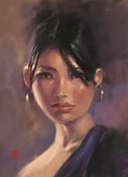 Portrait by steeldolphin