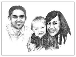The Kline Family by pixelworlds