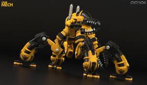 Crab Mechanoid by ViraA