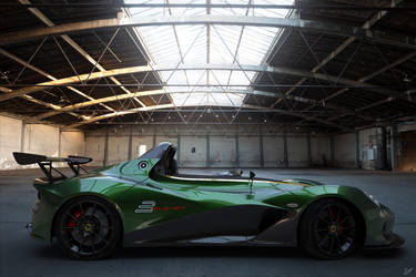 Lotus 3 Eleven  Side View by ViraA