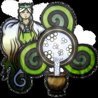 Sequona: A Healing River Maiden by TwaRavenMotifs