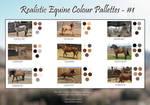 Realistic Equine Colour Pallettes - #1 by TwaRavenMotifs