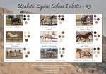 Realistic Equine Colour Palettes - #3 by TwaRavenMotifs
