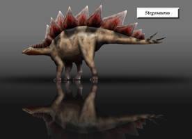 Stegosaurus by unlobogris