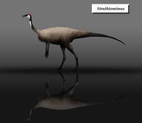 Struthiomimus by unlobogris