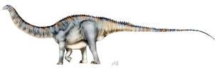 Apatosaurus louisae by unlobogris