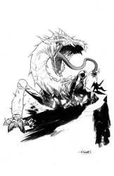 Dragon...or something. by ChristianDiBari