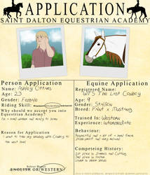 Saint Dalton Application by lionsilverwolf