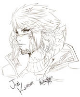 FFXIV: Jun Tetsuya Nomura Style by Nezusagi