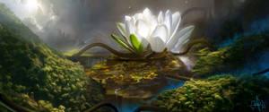 Environment concept art by jaime-sanjuan
