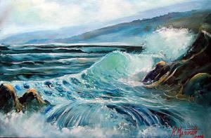 Sea and stones for massucatto by ricardomassucatto