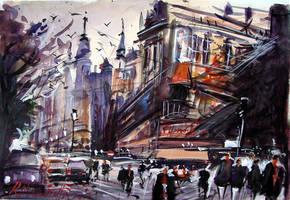 Massucatto Watercolour III by ricardomassucatto