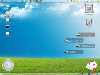 August 2009 Desktop by AfzalivE